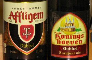 dubbels - Affligem and Koningshoeven