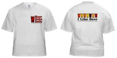 beer haiku daily t shirt