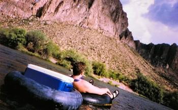 tubing down the salt river
